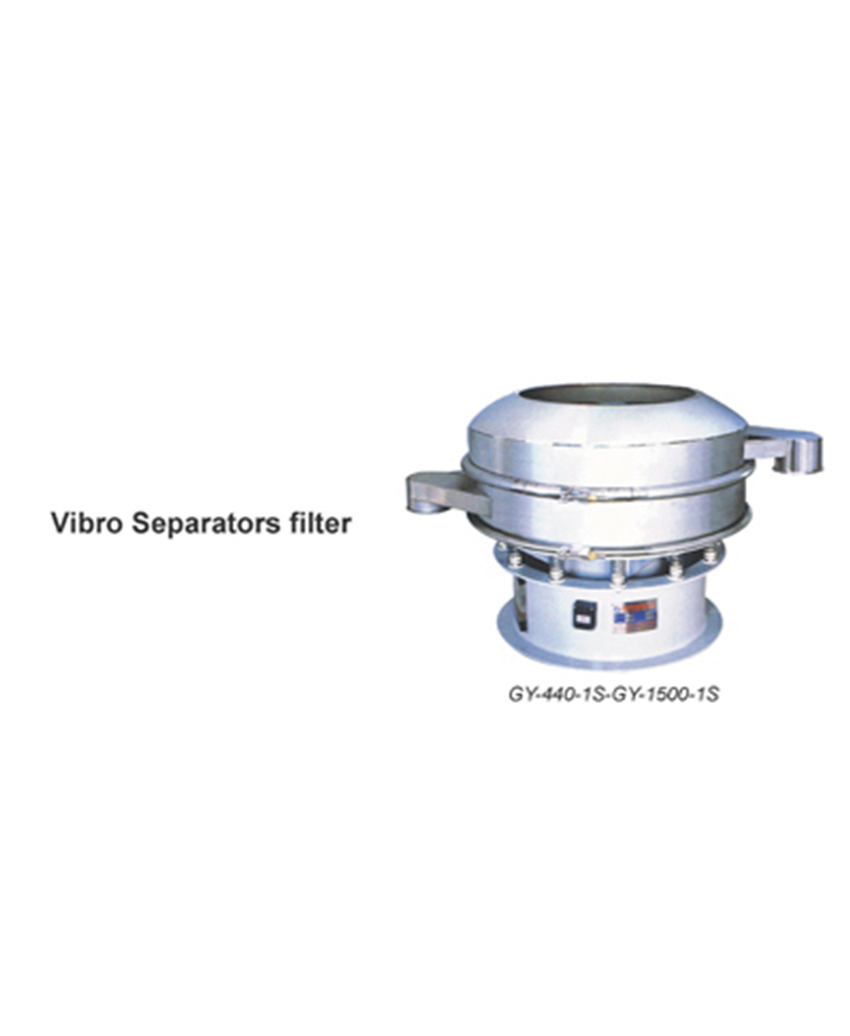 Vibro Separators Filter